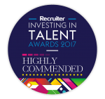 Recruiter awards investing in talent highly commended